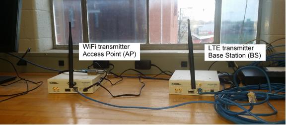 Figure 28: Transmitter location.