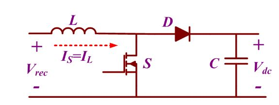 Figure 3. Power Circuit of Boost Converter