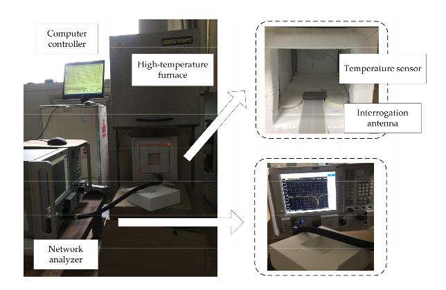 Figure 9. Temperature testing setup