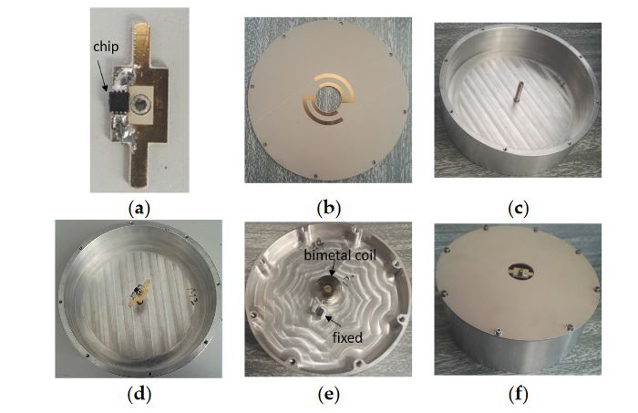 Figure 8. (a) The Voyantic Tagformance lite UHF RFID measurement system; (b) Measurement setup in an anechoic chamber