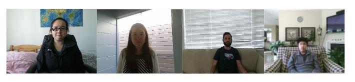 Figure 2.1: Sample Color Images Captured from Kinect V2