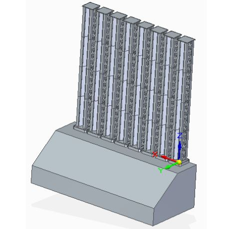 Figure 4.1 Physical Design in Solid Edge